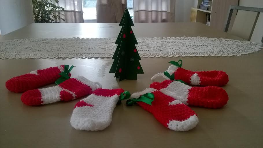 medias navideñas